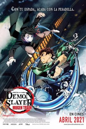 DEMON SLAYER: EL TREN INFINITO SUBT BH